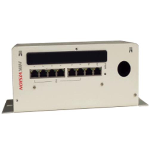 Bộ cấp nguồn HIKVISION DS-KAD606 phân phối tín hiệu Video/Audio 8 cổng RJ45
