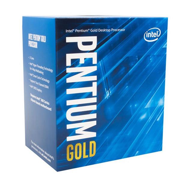 INTEL PENTIUM GOLD G5500 / 4M / 3.8GHZ / 2 NHÂN 4 LUỒNG - Socket 1151v2 Coffee Lake