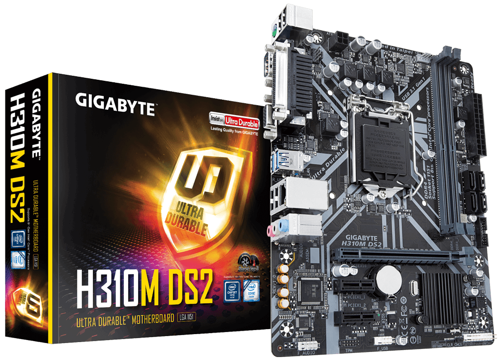 Gigabyte H310M-DS2 - Socket 1151v2