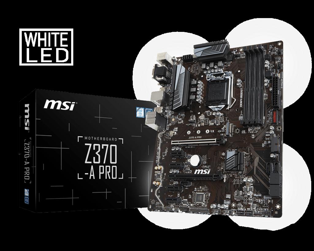 MSI Z370 - A Pro - Socket 1151v2