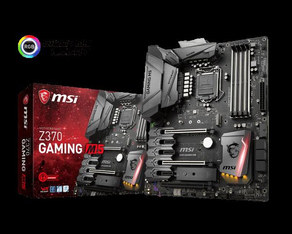 MSI Z370 Gaming M5 - Socket 1151v2