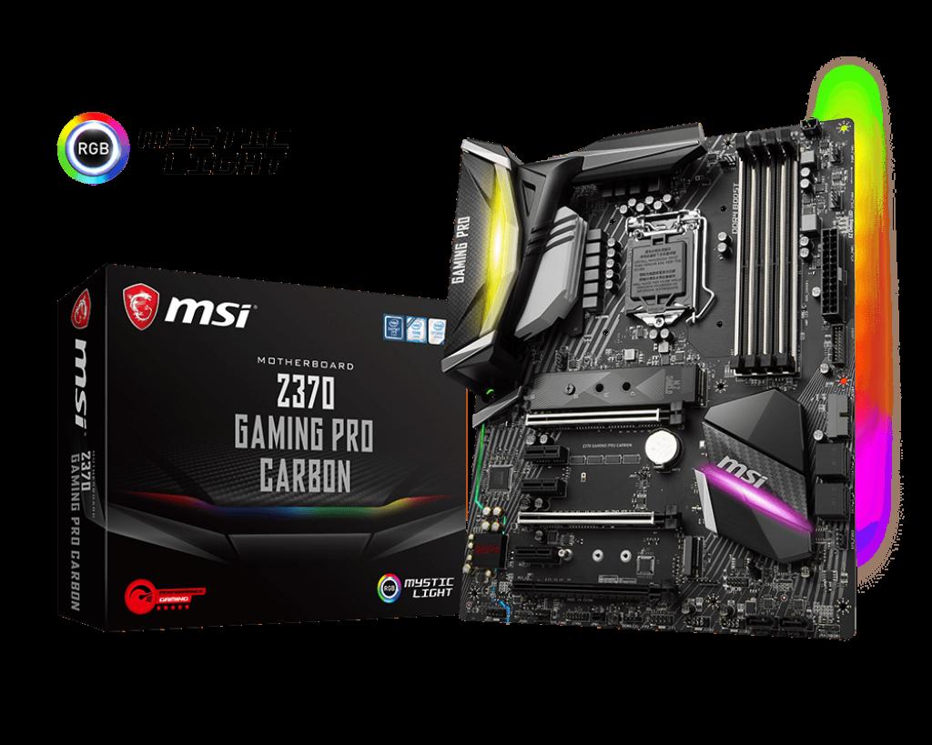 MSI Z370 Gaming Pro Carbon - Socket 1151v2