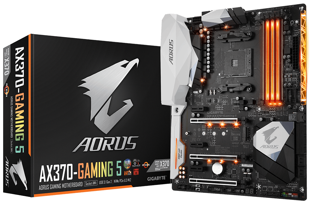 Gigabyte Ax370 Gaming 5 – Socket Am4
