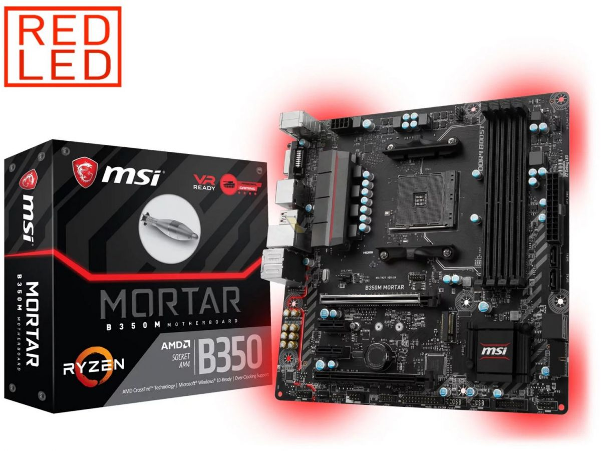 MSI B350M MORTAR– SOCKET AM4