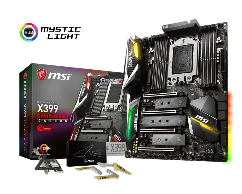 MSI X399 GAMING PRO CARBON AC – SOCKET TR4