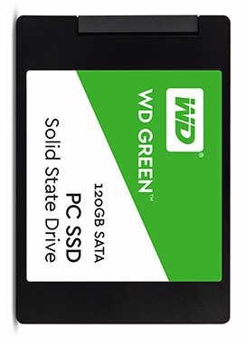 WESTERN DIGITAL GREEN 120 GB - SATA3 SSD