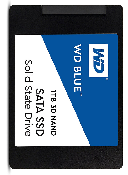 WESTERN DIGITAL BLUE 1TB 3D NAND- SATA3 SSD