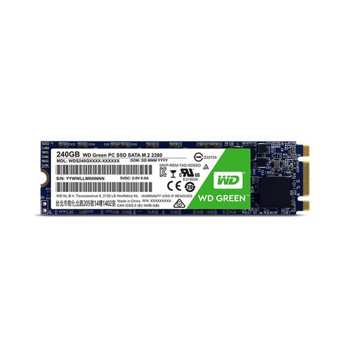 WESTERN DIGITAL GREEN M.2 2280 240GB - M2 SATA3 SSD