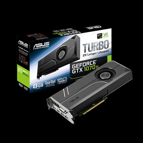 ASUS GEFORCE ROG STRIX GTX 1070 TI TURBO 8GB (256 BIT) DDR5