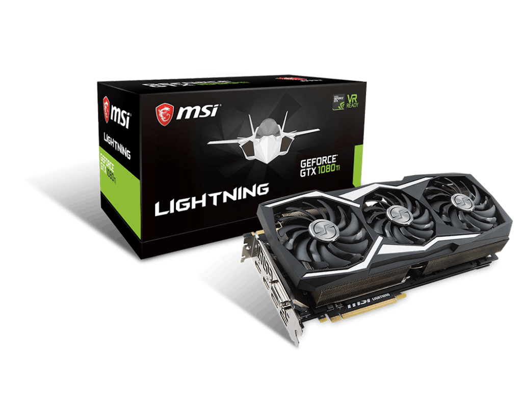 MSI NVIDIA GEFORCE GTX 1080 TI LIGHTNING 11G 352BIT GDDR5X