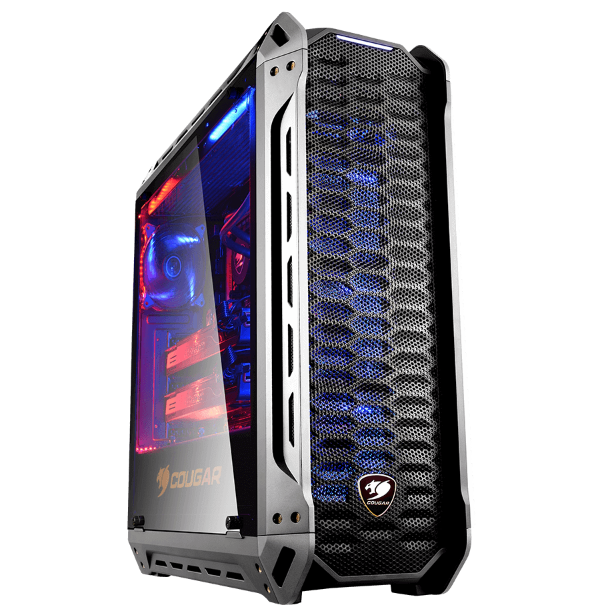 COUGAR PANZER - TEMPERED GLASS MID-TOWER GAMING CASE