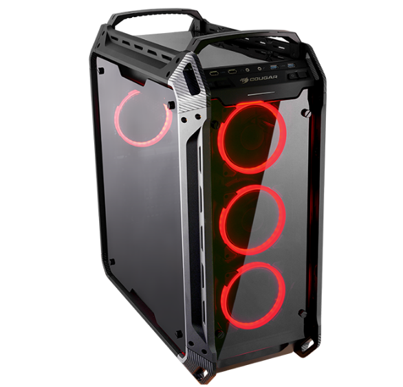 COUGAR PANZER EVO - THE CRYSTALLINE TITAN FULL TOWER GAMING