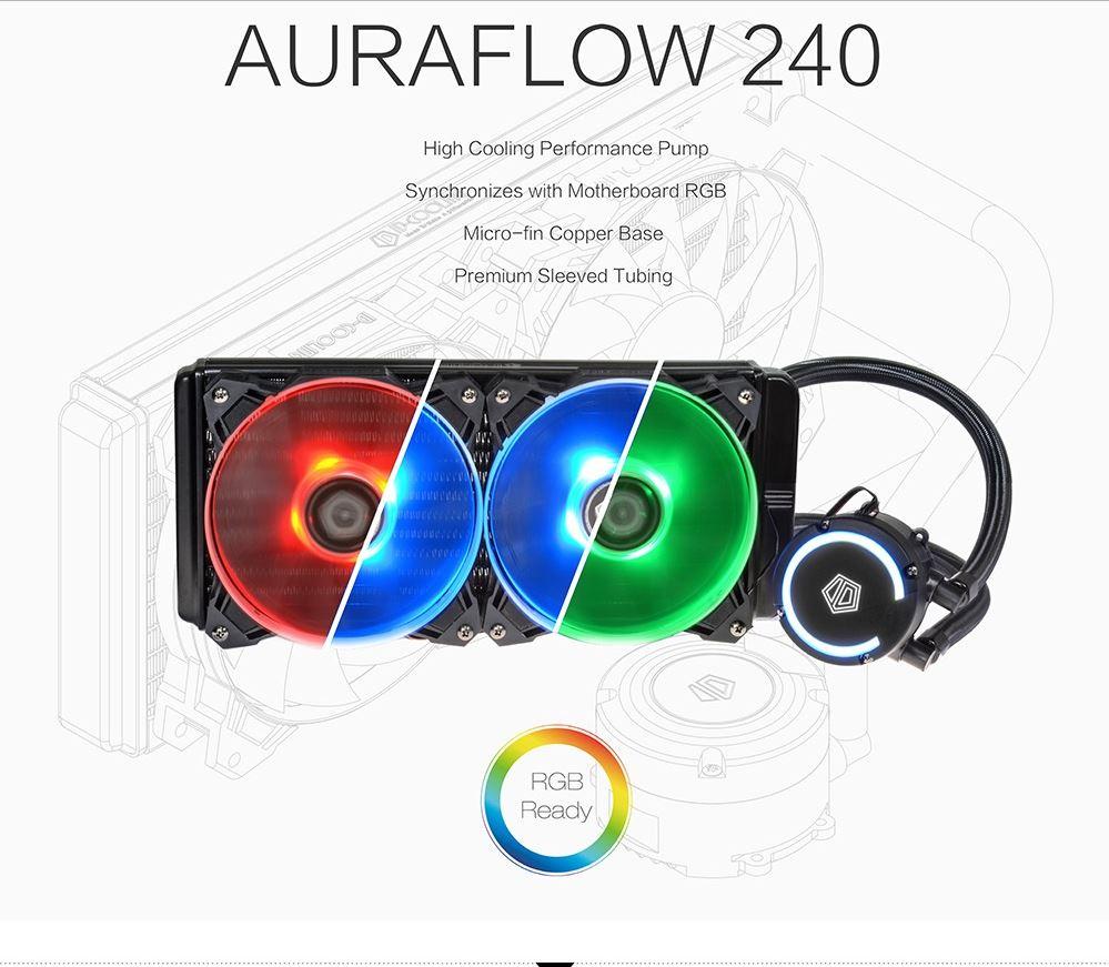 ID COOLING AURAFLOW 240 - EXTREME RGB CPU COOLING