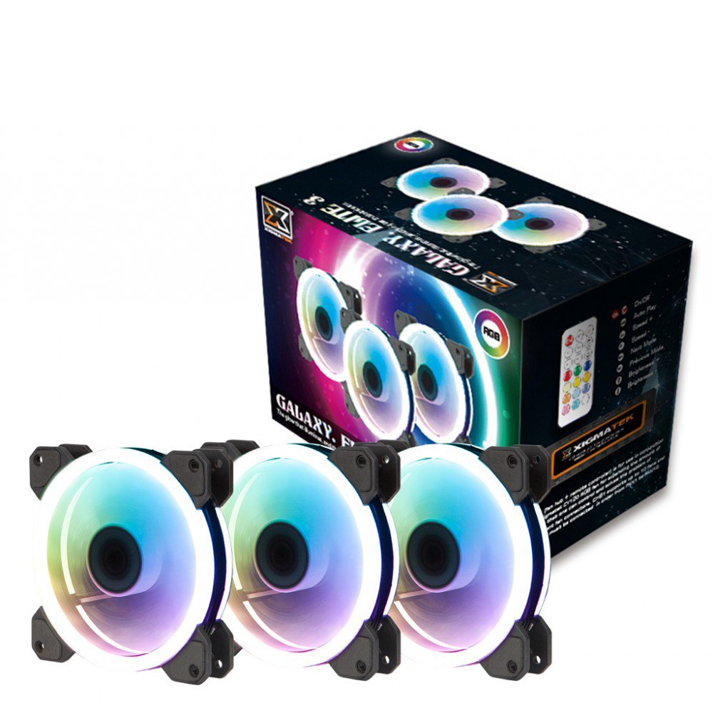 XIGMATEK GALAXY ELITE RGB 2 SIDE RING