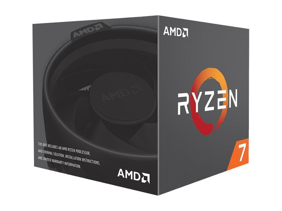AMD RYZEN 7 2700 8-CORE 3.2 GHZ (4.1 GHZ MAX BOOST)