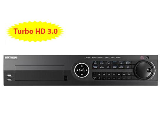 Đầu ghi hình HIKVISION DS-8104HQHI-F8/N 4 kênh HD 3MP, 8 sata, add 2 camera IP, H.264+