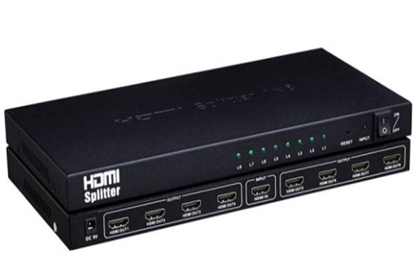 Bộ chia tín hiệu HDMI Splitter 1 ra 8 Full HD 1080P