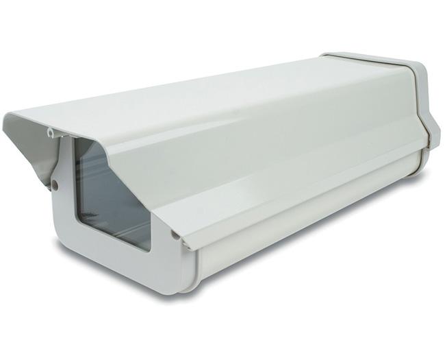 Hộp bảo vệ camera GL-605 hợp kim nhôm, màu bạc