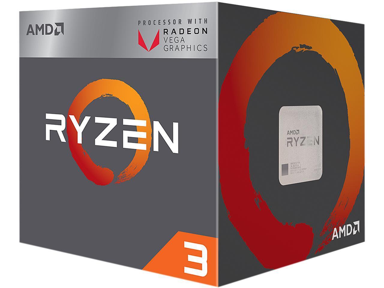 AMD RYZEN 3 2200G Quad-Core 3.5 GHz (3.7 GHz Turbo)